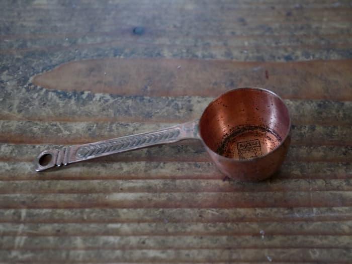 カリタの銅製メジャースプーン