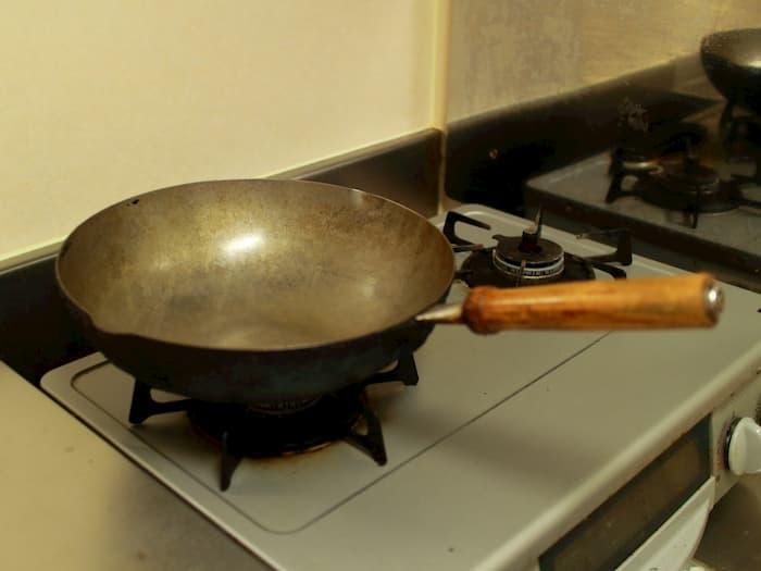 古い中華鍋