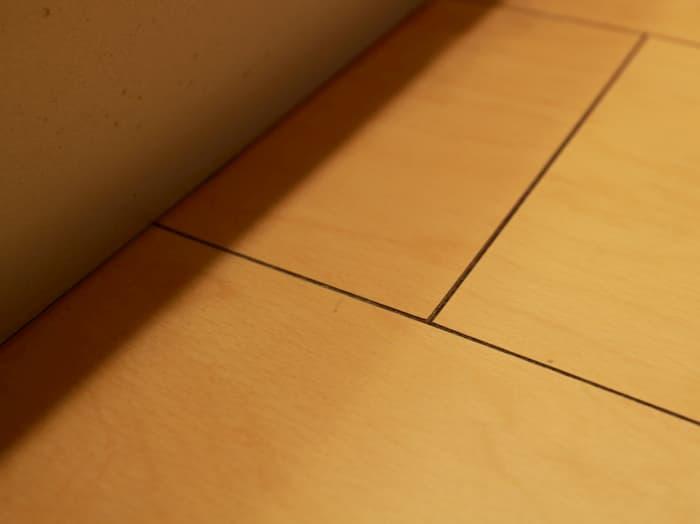 綺麗になったキッチンの床